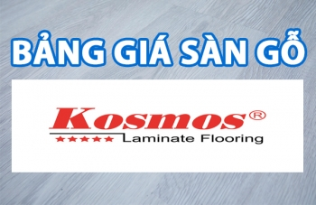 bang gia san go kosmos new 2019
