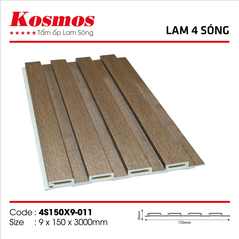 Bộ lam sóng Kosmos 4 sóng - Sàn gỗ Cường Nhung