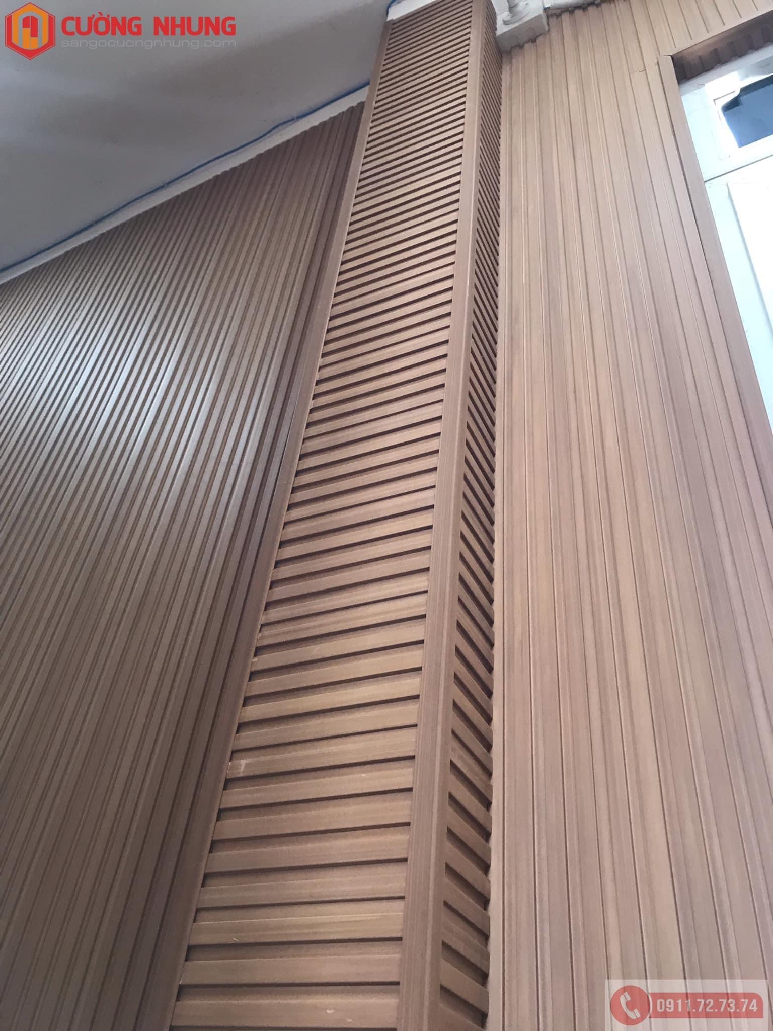 Tấm ốp tường bằng nhựa PVC - Lam sóng Kosmos