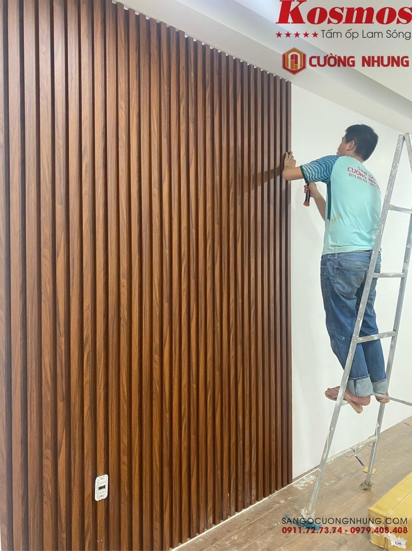 Lam sóng Kosmos tấm ốp tường chuyên dụng
